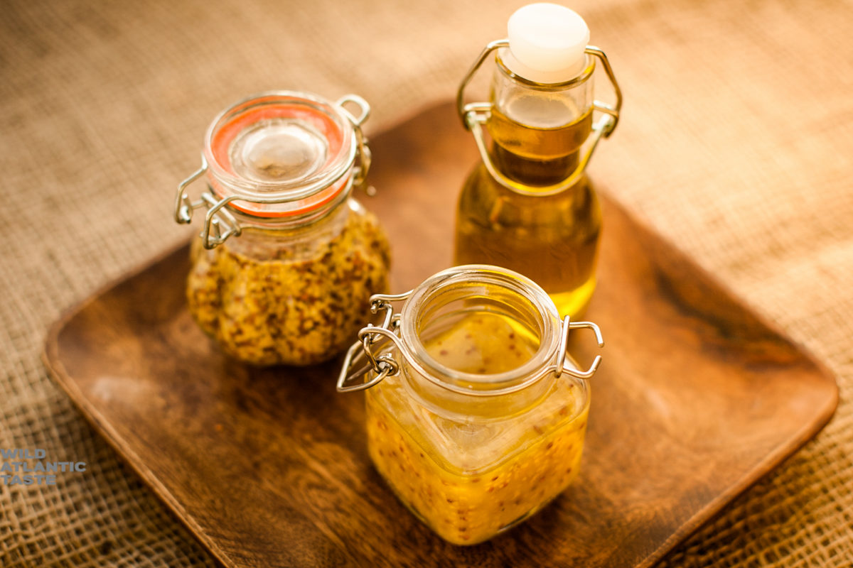 Honey and mustard dressing