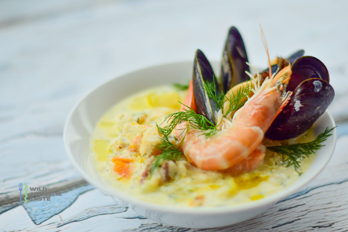 Irish seafood chowder