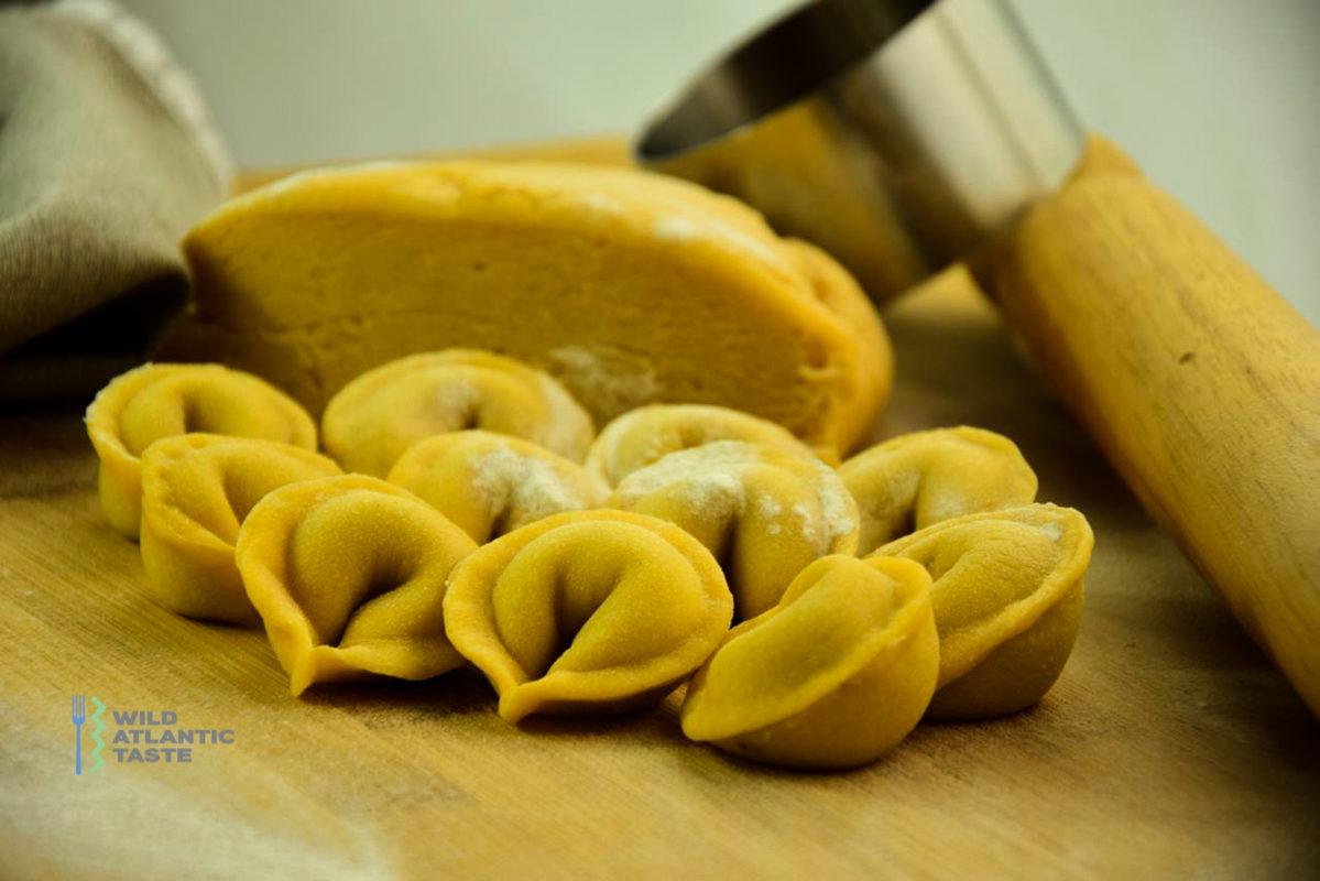 Mushroom and sage tortellini