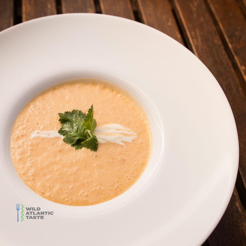 Potato and chorizo soup