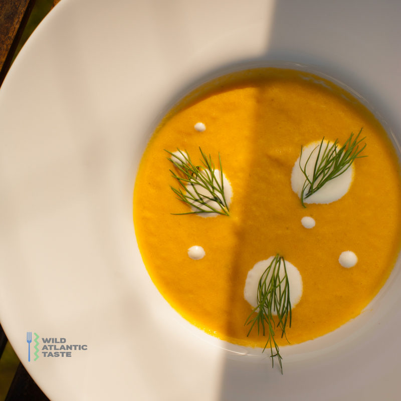 Sweet potato and fennel soup