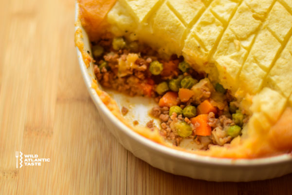 Shepherd's pie is ultimate Irish comfort food is guaranteed to warm you over. Give it a go and let us know what you think!