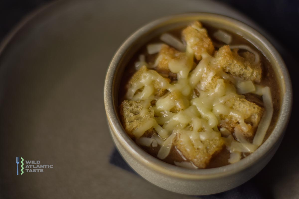 French onion soup is a bistro classic, an excellent example of a good café cooking. Here is a step-by-step recipe for making the best French onion soup you've ever eaten. It's one of the most straightforward yet most satisfying soups you will soon learn by heart.