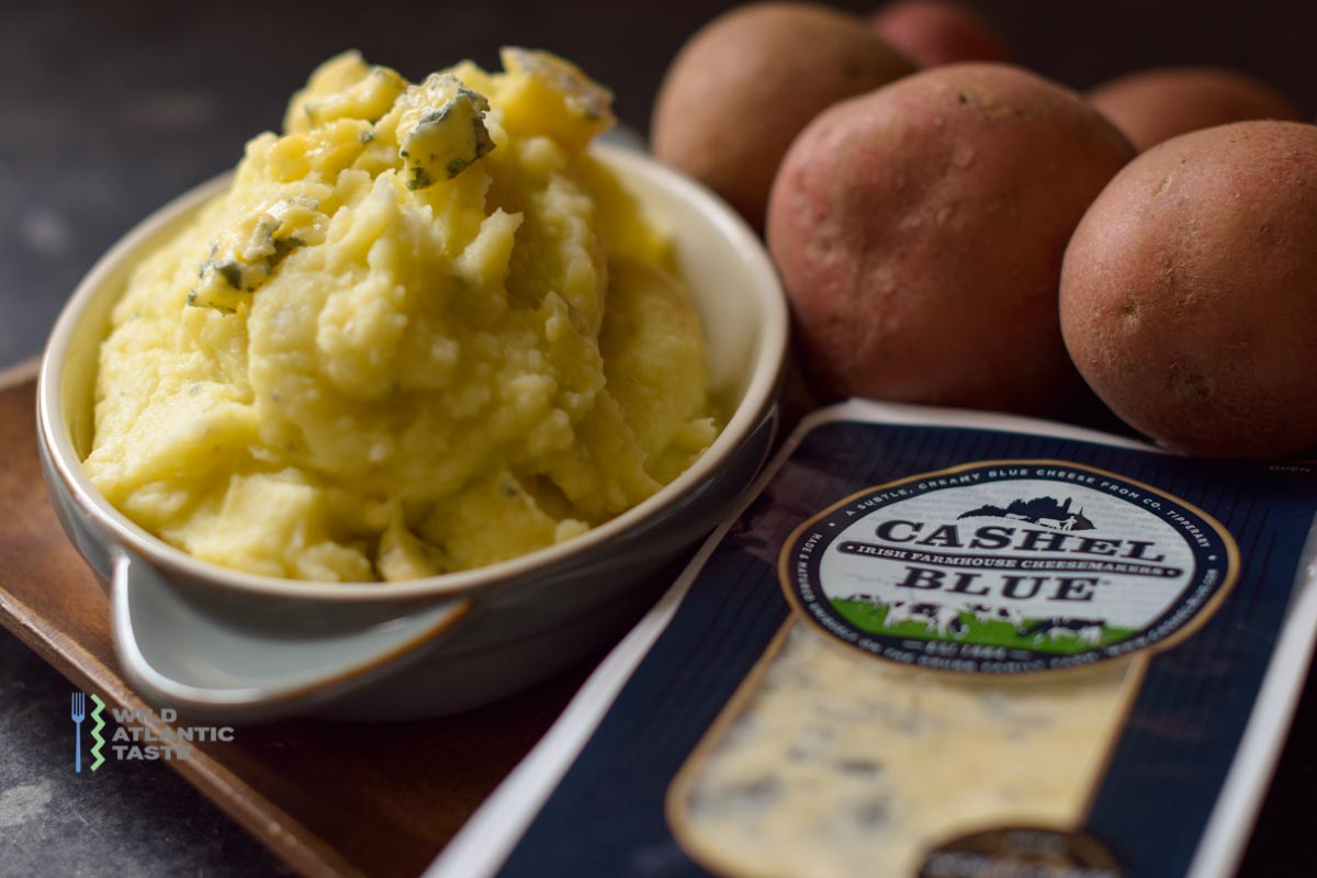 Cashel Blue Cheese Mashed Potatoes makes for a delicious side dish. If you are a little bit sick of eating the same stuff every day, you should give a go for that beautiful Cashel blue cheese mashed potato and let us know what you think!