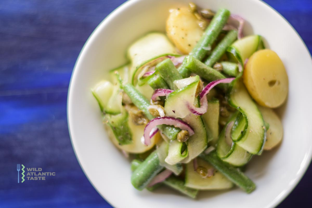 Potato Salad with Cucumber and Green Beans
