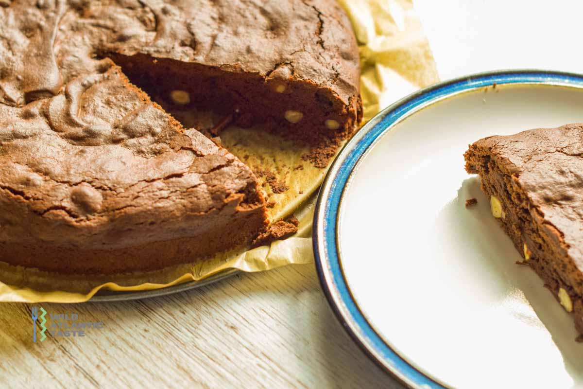 Chocolate Brownie with Hazelnuts